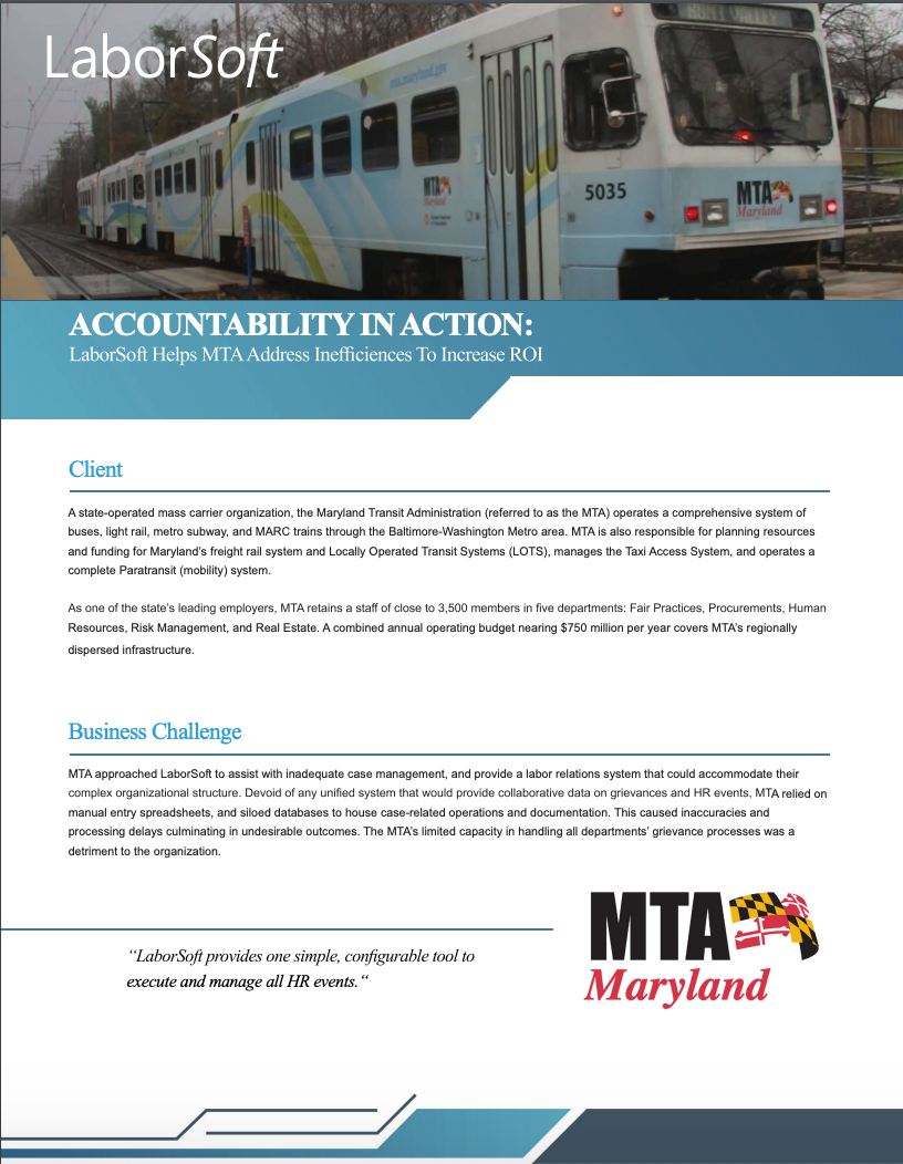 Maryland Transit Authority_Case Study
