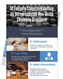 Non-Union Employee Grievances