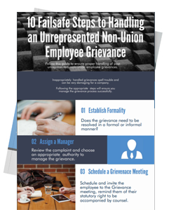 Non-Union Employee Grievances